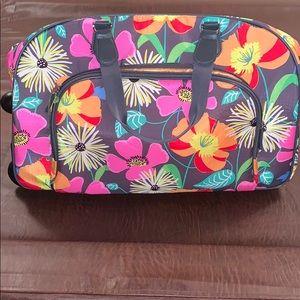 Vera Bradley rolling luggage
